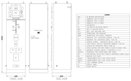 diagram 12kv indoor draw out air insulated vcb panels vcb panel wiring diagram at couponss.co